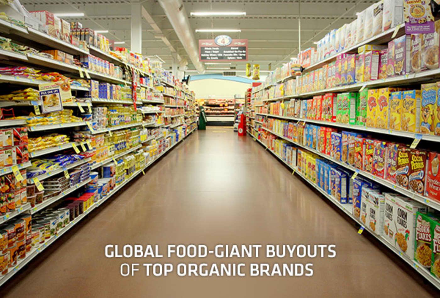 Global Food-Giant Buyouts of Top Organic Brands